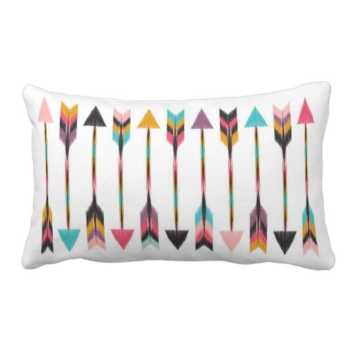 Bohemian Arrows Throw Pillows