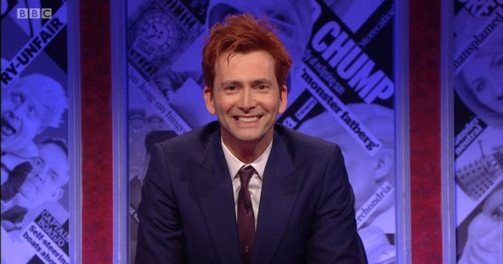 This evening David Tennant returned once again to the host's seat for the BBC's satirical news show Have I Got News For You. David was j...