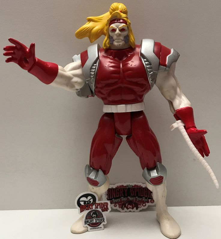 (TAS003363) - 1994 Marvel Comics Evil Villain Action Figure - Omega Red