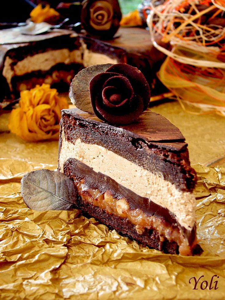 Elegant Toffee Cake...