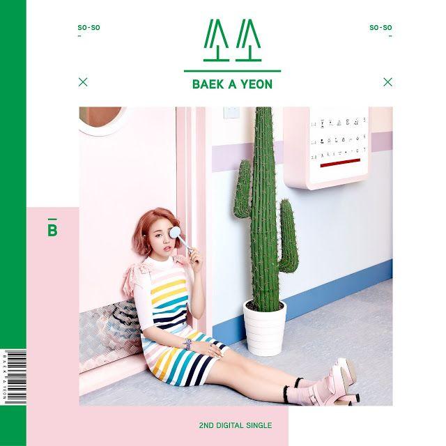 [Single] Baek A Yeon – so-so (MP3) - EMI KPOP PLAY MUSIC