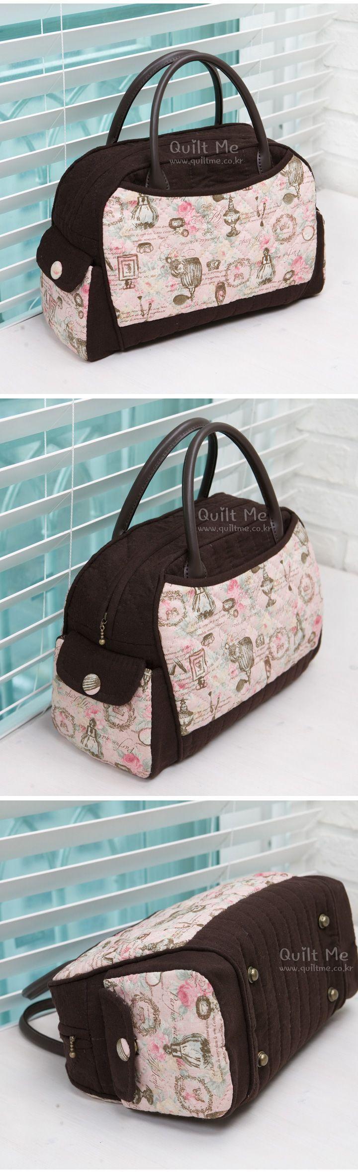 ❤ Růžové kabelky ❤ - Marina Quilt