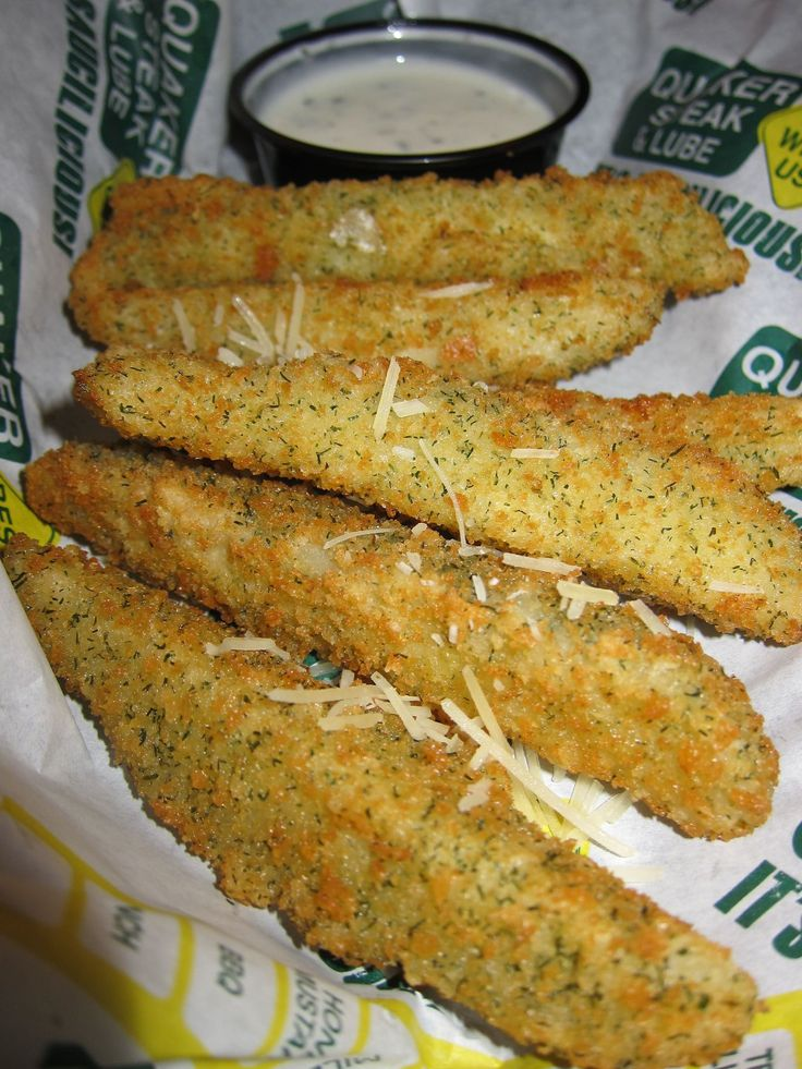 Quaker steak and lube fried pickles