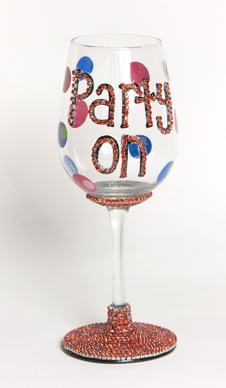 Blog Cousin Corporation Diy wine glasses, Happy