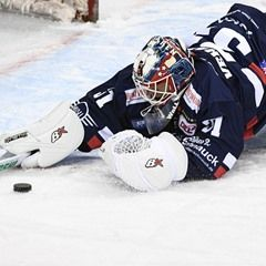 DEL Hockey - Eisbaeren Berlin and Augsburger Panther