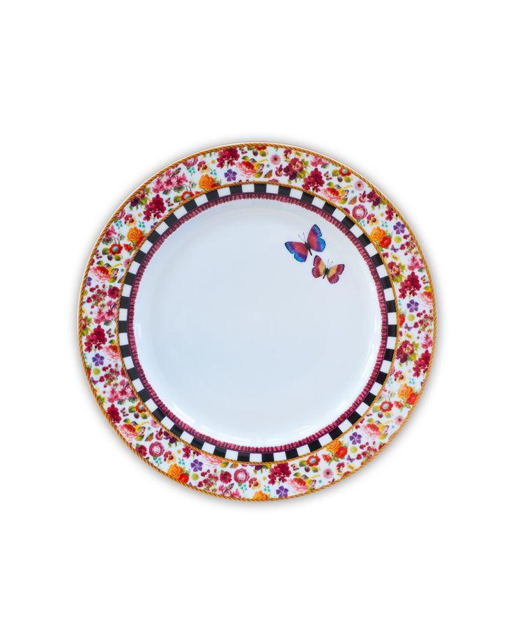 Plate Isabelle 26.5 cm