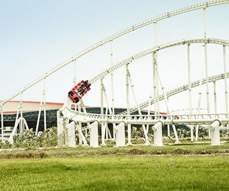 Formula Rossa Rollercoaster - Dubai