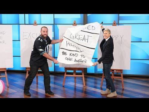 The Ellen DeGeneres Show - 'AGT' Finalist Jon Dorenbos' Touchdown of a Trick!: The Ellen DeGeneres Show - 'AGT' Finalist Jon Dorenbos'…