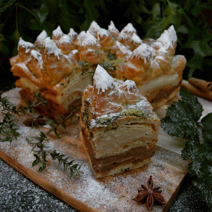 Food photography. Carpathian's cake.