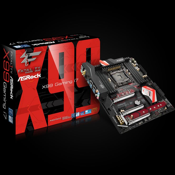 ASRock Fatal1ty X99 Professional Gaming i7, X99, QuadlDDR4-2133, SATA3, SATAe, M.2, ATX w Morele.net