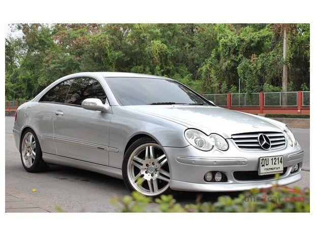 2003 Mercedes-Benz CLK200 Kompressor W209 (ปี 02-09) Elegance 1.8 Coupe