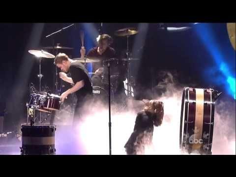 "▶ Imagine Dragons ""Demons"" Radioactive live 2013 AMA American Music Awards - YouTube"