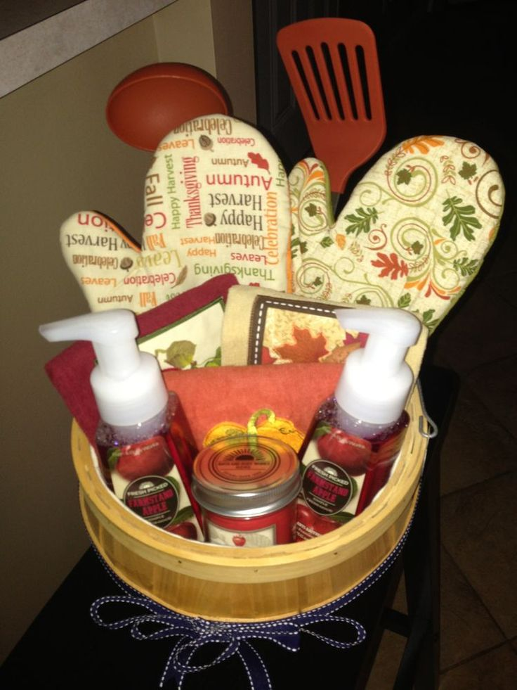 25 Best Ideas About Fall Gift Baskets On Pinterest