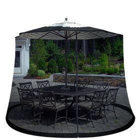 Outdoor Umbrella Screen