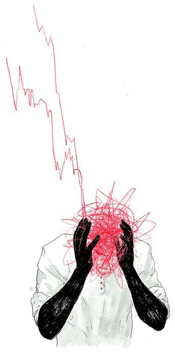 Stock Exchange Headaches – XF&M ILLUSTRATION