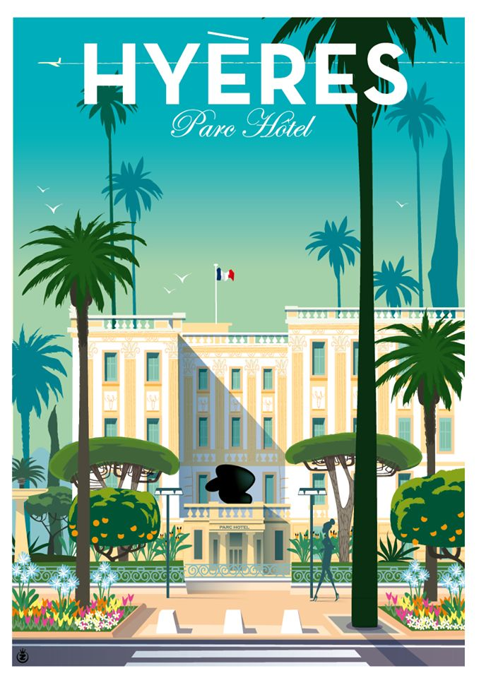 Travel Poster ~ by Richard Zielenkiewicz