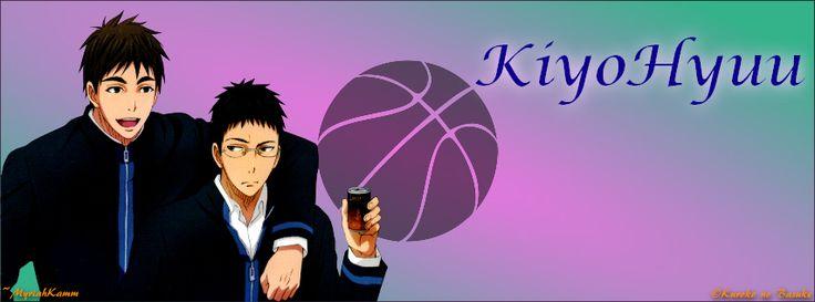 Kiyoshi Teppei and Hyuuga Junpei from Kuroko no Basket, FB Cover size