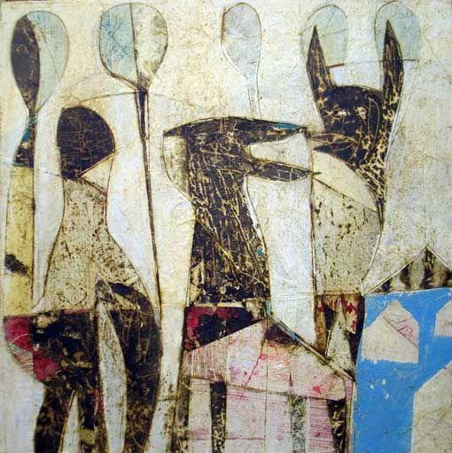 Matteo Cocci, Filibustieri, 40x40, 2011