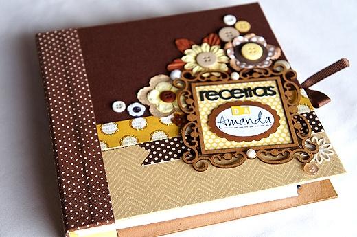 caderno de receitas by @Nayda Santiago Rocha