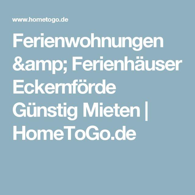 Ferienwohnungen & Ferienhäuser Eckernförde Günstig Mieten | HomeToGo.de