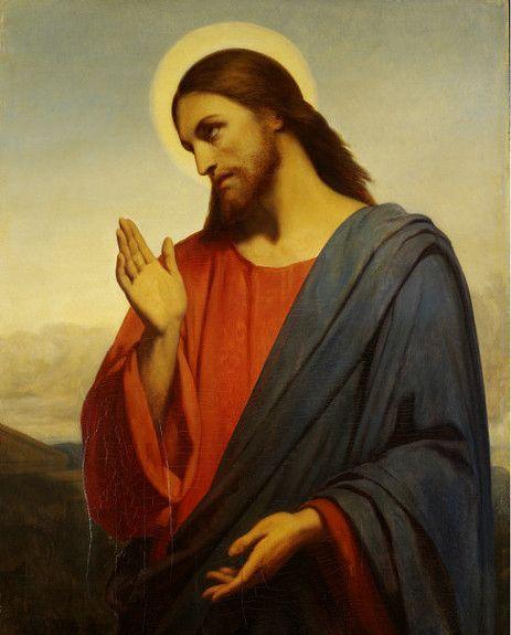 Jesus by Ary Scheffer
