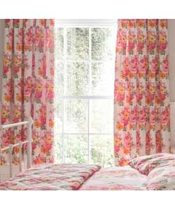 Kelso Pencil Pleat Lined Curtains 168x183cm - Duck Egg.