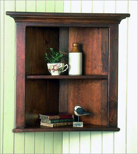 Vintage Corner Cupboard 6