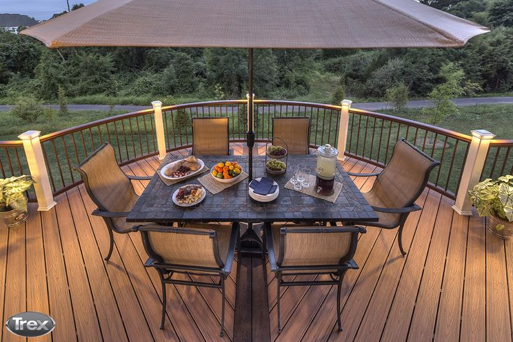 #DidYouKnow: You can get an estimate for the cost of materials for your deck project by using the Trex Cost Calculator. Try it out today – you might be surprised that composite decking can be in your budget. #outdoorliving #backyard #deck #patio #porch #compositedecking http://www.trex.com/products/deck-cost-landing/
