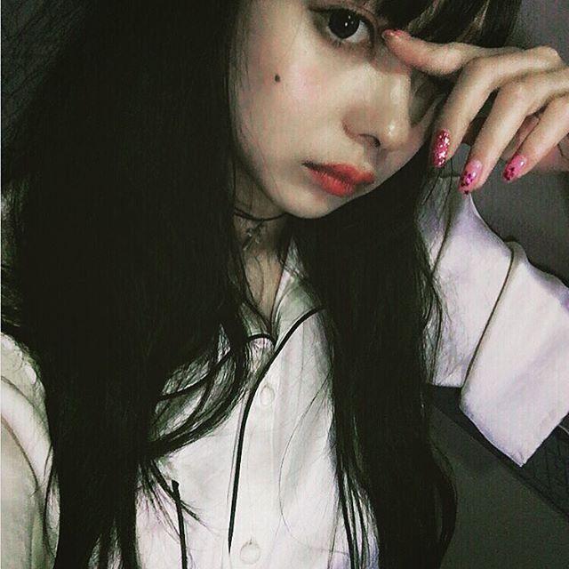 Monaca Nishi // Hair: black - Eyes: brown - Background: Japanese - Nationality: Japanese