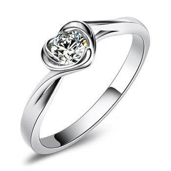Christmas Gift Free Shipping 100% Sterling Silver Jewelry Lovely Female Models Ring Silver Ring Top Quality!