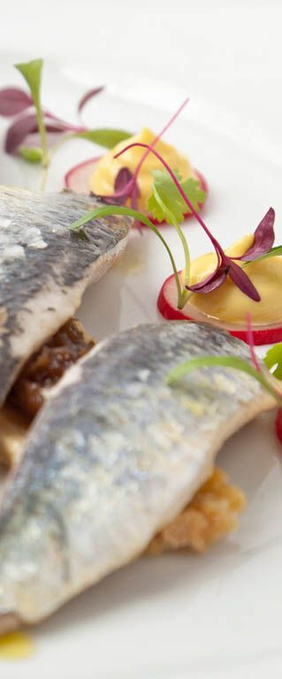 Adam Gray takes the simple combination of sardines on toast and turns it into a smart dinner party starter or gourmet breakfast. In his sardines on toast recipe below, Adam includes recipes for salad cream and tomato dressing that can be used time and again.