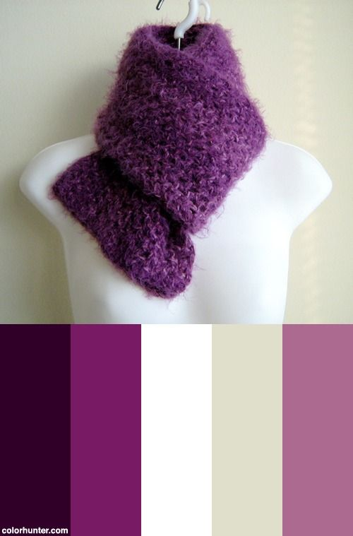 Veronica Super Long Soft N Fuzzy Scarf In Amethyst Purple