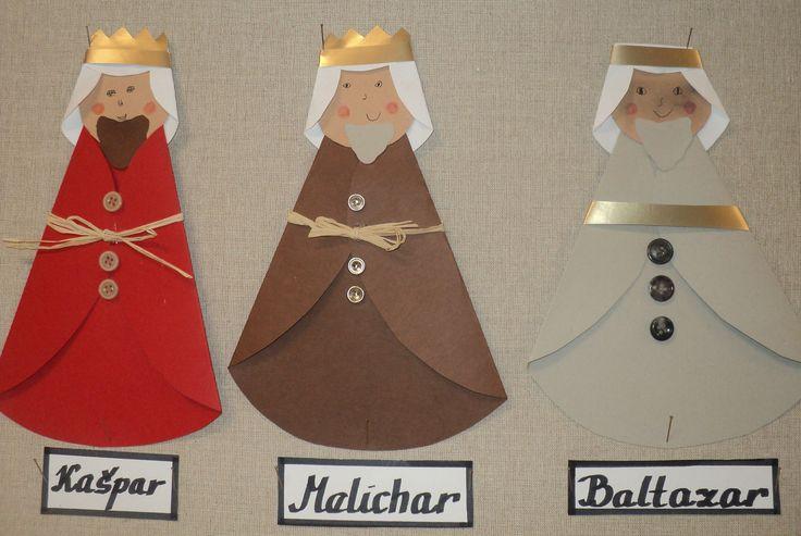 Tři králové - Kašpar, Melichar a Baltazar