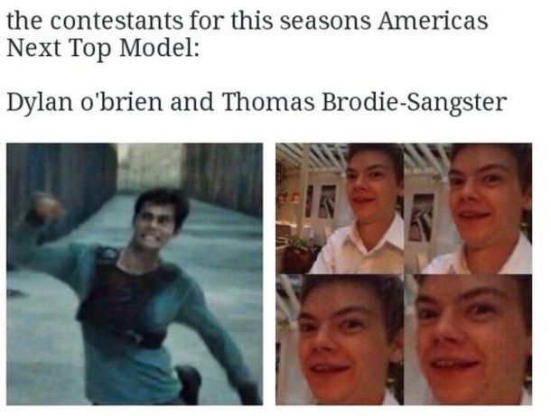 I mean..Thomas is British but that's hilarious