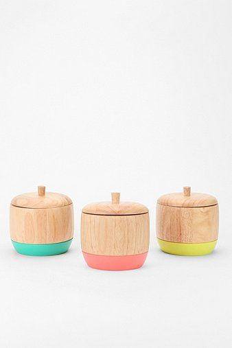 dipped wood boxes