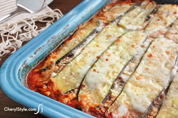 Our vegetarian zucchini lasagna is a healthier alternative to pasta noodles. the kids will eat it up and you won't even notice it's meatless!