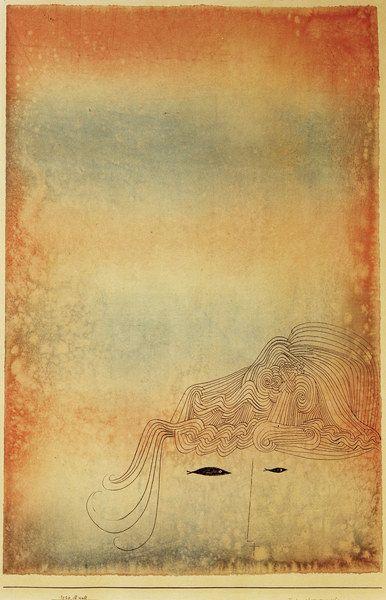 Paul Klee, Fisch - physiognomisch 1926, 30 / Museum Sammlung Rosengart, Luzern