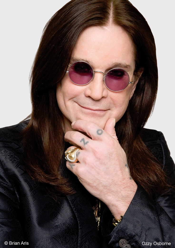 Ozzy! He once came into a Blockbuster in Austin where I worked and bought up every WWII documentary video and every copy of 'A Clockwork Orange' he could get his hands on.