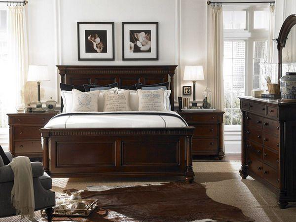 Modern Bedroom Design with Traditional Bedroom Furniture Set