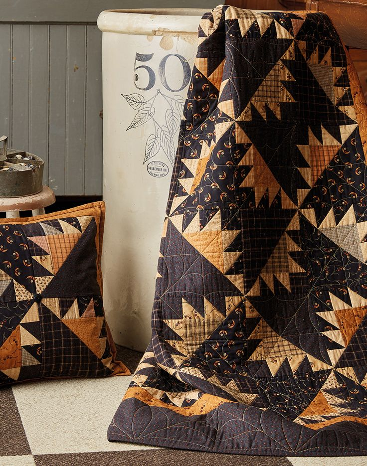 From the new book by Lynne Hagmeier of Kansas Troubles Quilters: Cozy Quilts and Comforts.