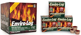 What's New Canada: Enviro-Log Firelogs & FireStarters Review/Giveaway...