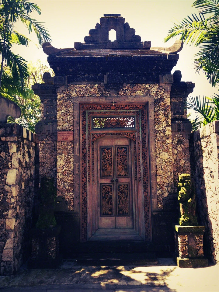 Doorway, Sanur. Bali