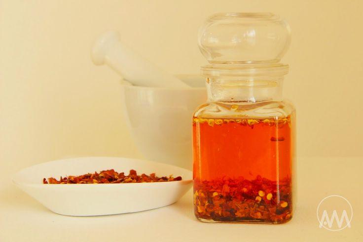 V kuchyni vždy otevřeno ...: Červený chilli olej