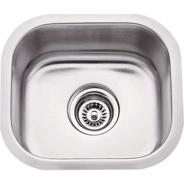 Undermount Stainless Steel Sink 14 1 2 X 13 X 7 Overall Bowl 12 1 2 X 11 X 7 869 18 Gauge 304 Stainl With Images Undermount Bar Sink Stainless Steel Undermount Bar Sink