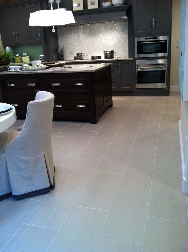 2012 DC Design House Kitchen Floor Tile and backsplash provided by Architectural Ceramics.