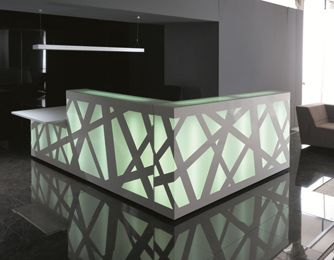 reception furniture design. zigzag reception desk furniture design n