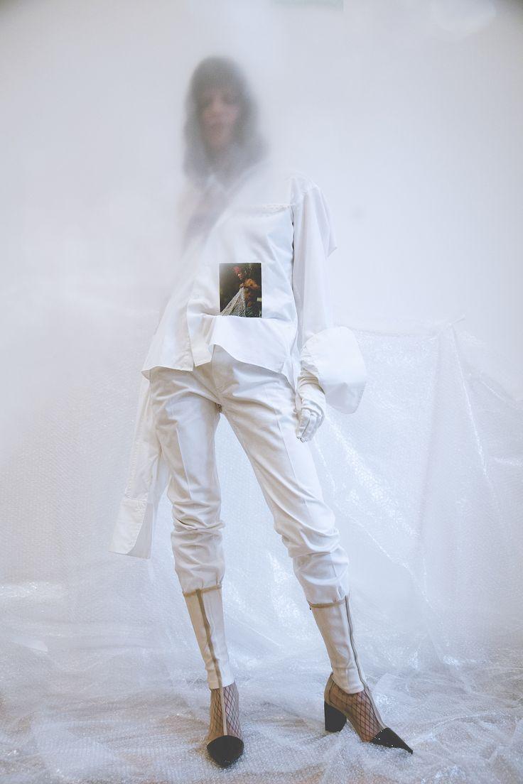 Veil by Rosamosario    [No Correspondence    Editorials — 06.03.17]  Photography: Ilaria Taschini /  Styling:Riccardo Maria Chiacchio /  Beauty: Guia Bianchi /  Model: Cecilia Mezzi    #Rosamosario #Editorials