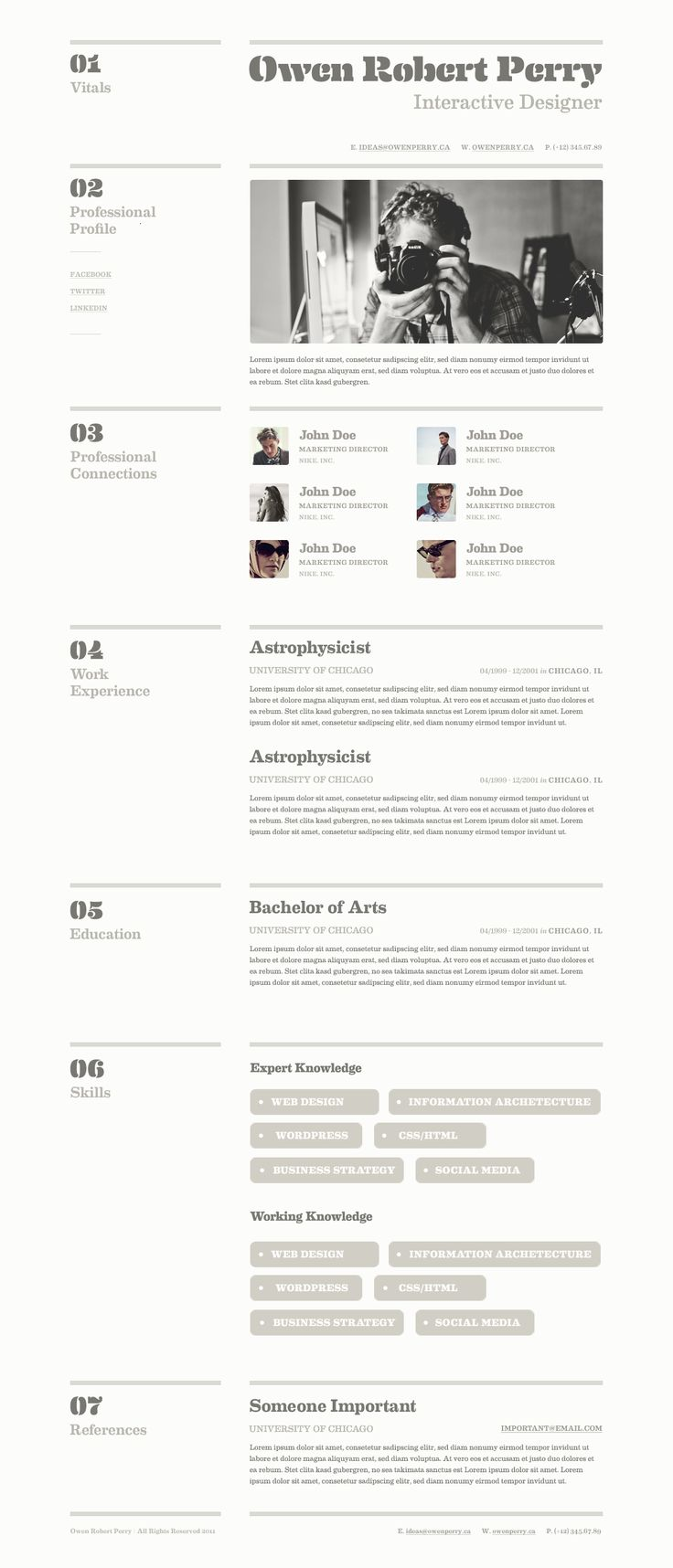 190 best resume design  u0026 layouts images on pinterest