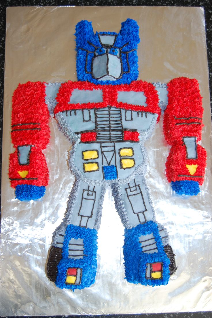 Xander S 5th Birthday Was A Transformer Party For This