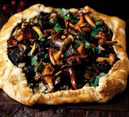 Artichoke & wild mushroom pie recipe - Recipes - BBC Good Food